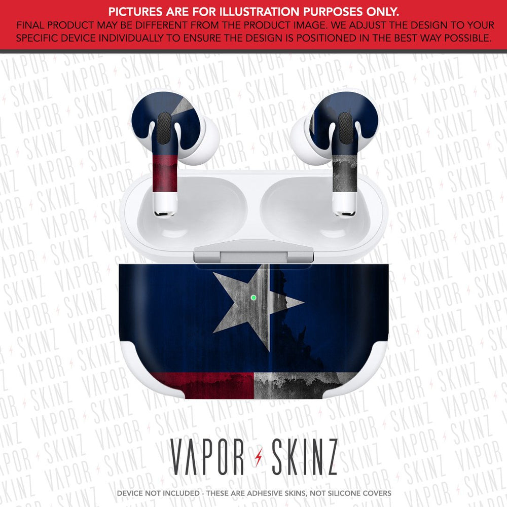 Rusted Texas APPLE AIRPODS PRO Skin