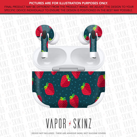 Strawberries APPLE AIRPODS PRO Skin