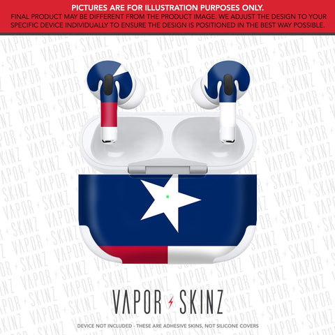 Texas APPLE AIRPODS PRO Skin