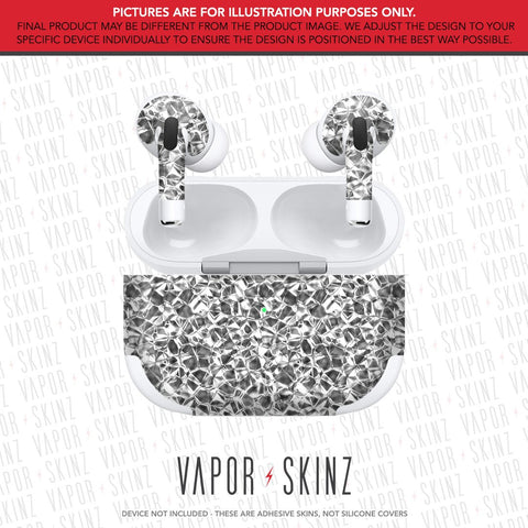 White Diamonds APPLE AIRPODS PRO Skin