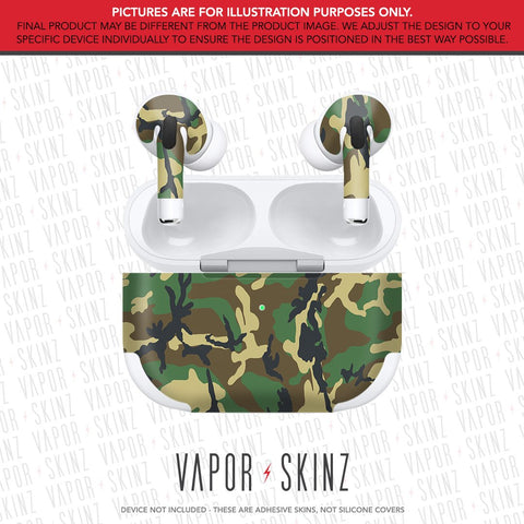 Woodland Camo APPLE AIRPODS PRO Skin