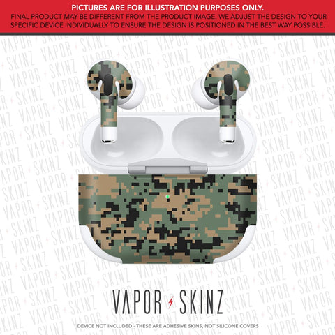 Woodland Digi Camo APPLE AIRPODS PRO Skin
