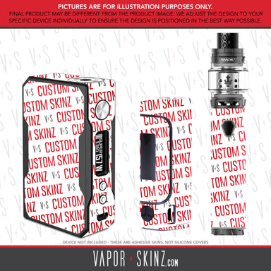 Custom Box & Tube mod Skin - Vapor Skinz