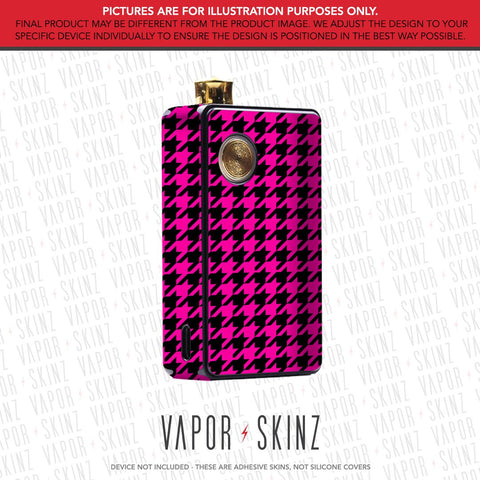 Pink Houndstooth DOT AIO Skin
