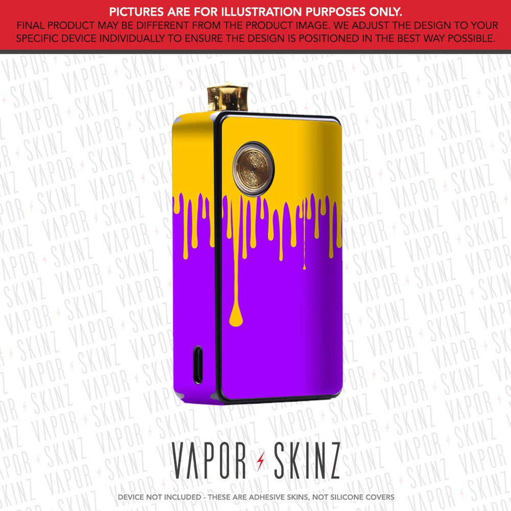 Purple Yellow Drip DOT AIO Skin