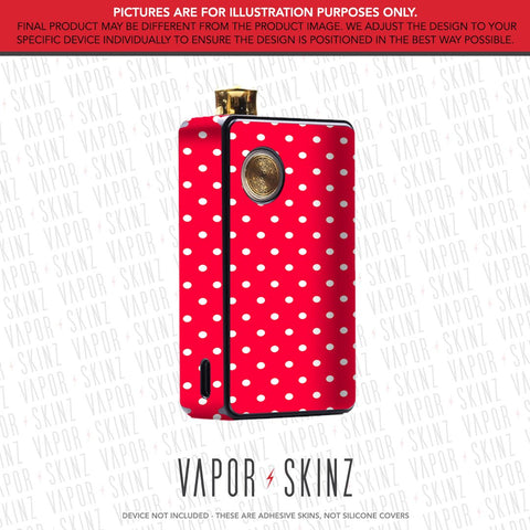 Red Polka Dots DOT AIO Skin