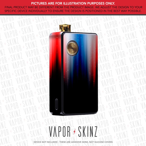 Red White & Blue DOT AIO Skin