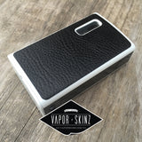 Black Faux Leather  | Vapor Skinz - Vapor Skinz