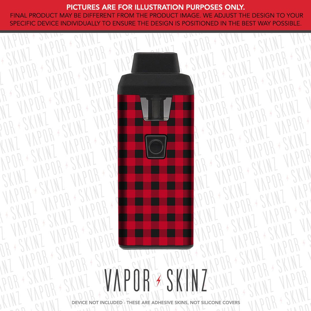 Red Plaid iCARE 2 Skin