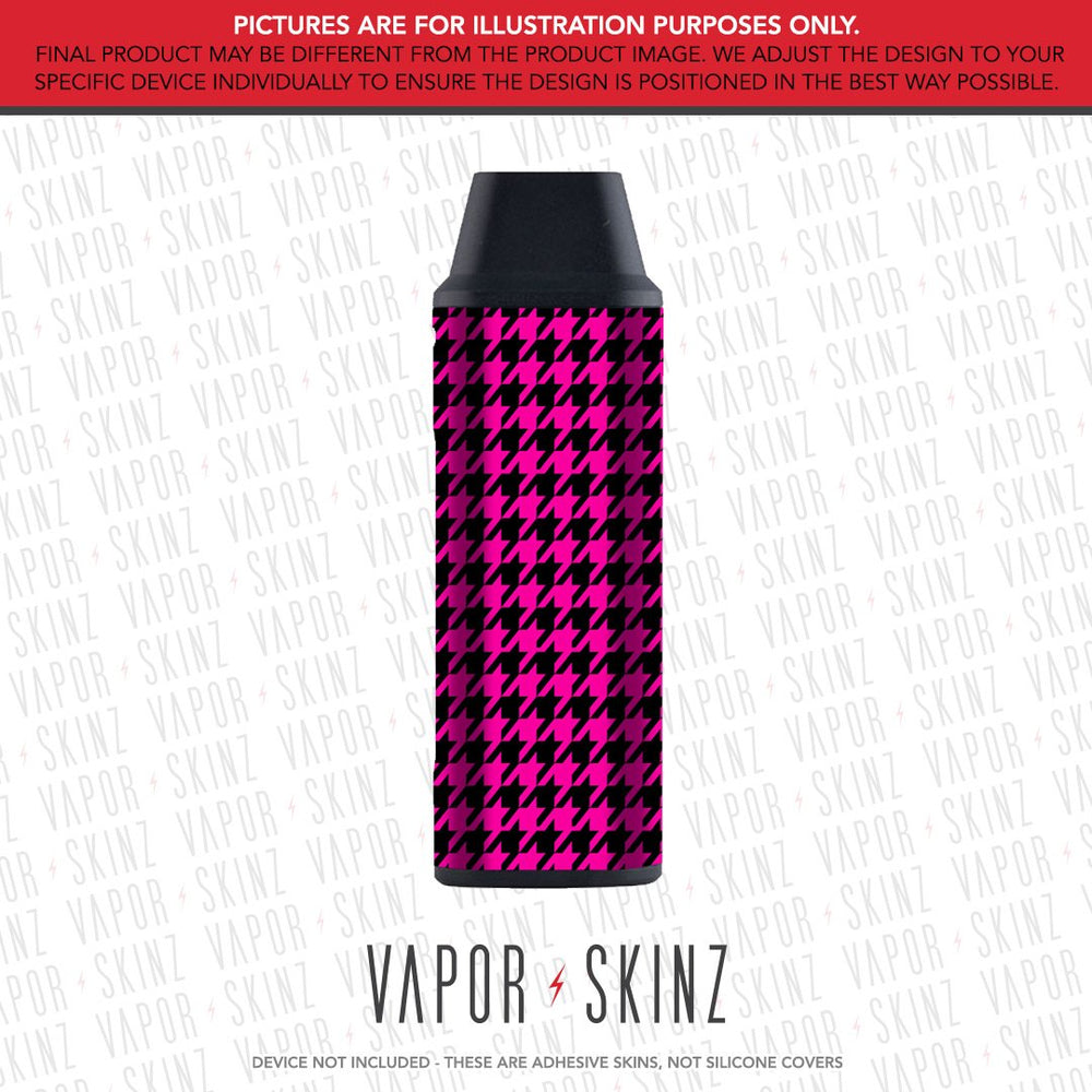 Pink Houndstooth iCARE MINI Skin