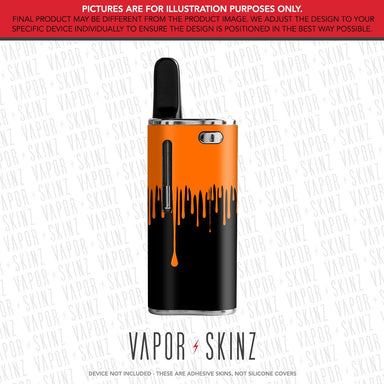 Black Orange Drip EXXUS SNAP Skin
