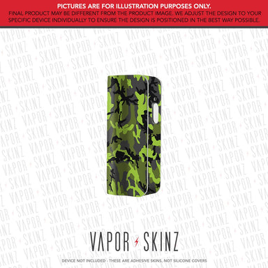 Black Green Camo SNAP MINI Skin