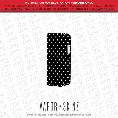 Black Polka Dots SNAP MINI Skin
