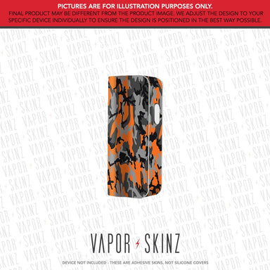 Black Orange Camo SNAP MINI Skin