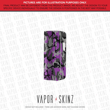 Black Puple Camo SNAP MINI Skin