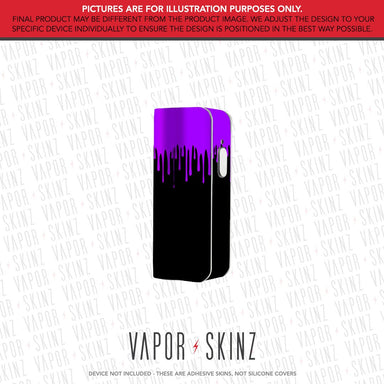 Black Purple Drip SNAP MINI Skin