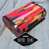 Geometric Orange - Vapor Skinz