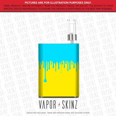 Yellow Blue Drip PALM CCELL Skin