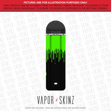 Black Green Drip SUPERGOOD POD Skin