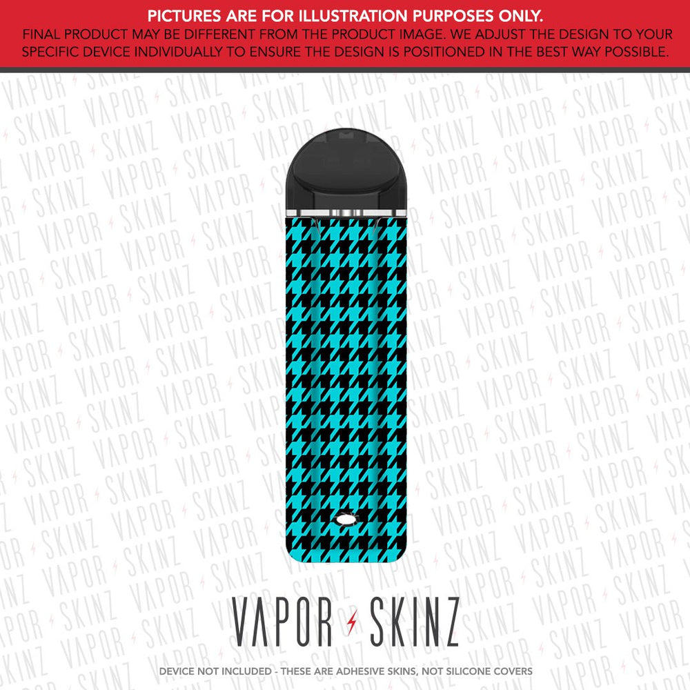 Blue Houndstooth SUPERGOOD POD Skin