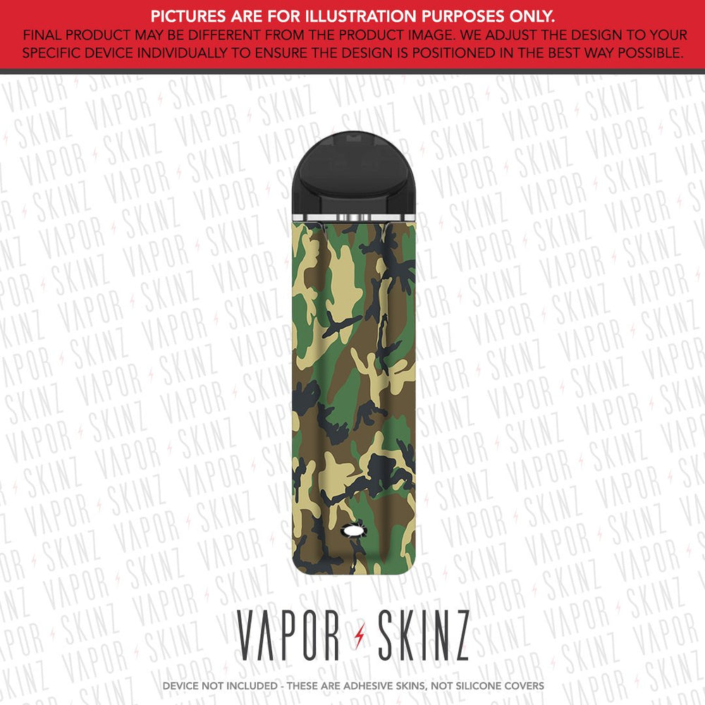 Woodland Camo SUPERGOOD POD Skin