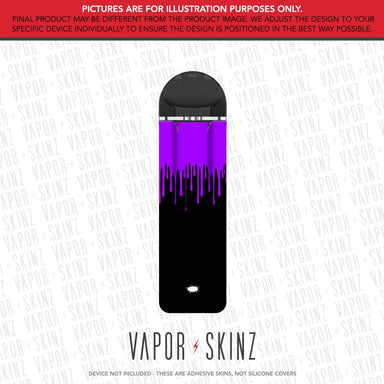 Black Purple Drip SUPERGOOD POD Skin