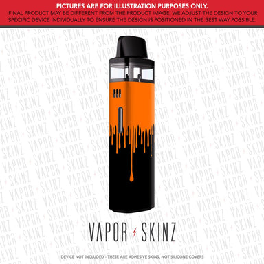 Black Orange Drip VINCI AIR Skin