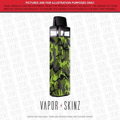 Black Green Camo VINCI AIR Skin