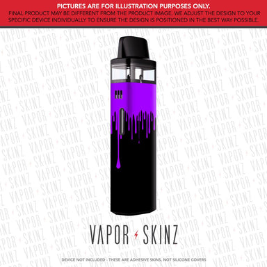 Black Purple Drip VINCI AIR Skin