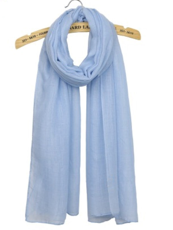 Casual Plain Women All Season Scarf