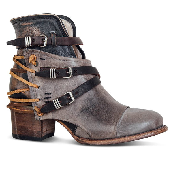 Solid Chunky High Heel Martin Boots
