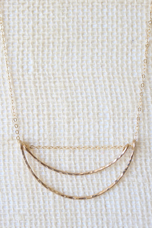 Gold Skies Necklace - Jessica Matrasko Jewelry