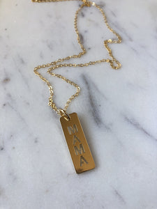 Mama Necklace - Jessica Matrasko Jewelry
