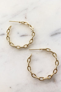 Pepa Hoops - Jessica Matrasko Jewelry