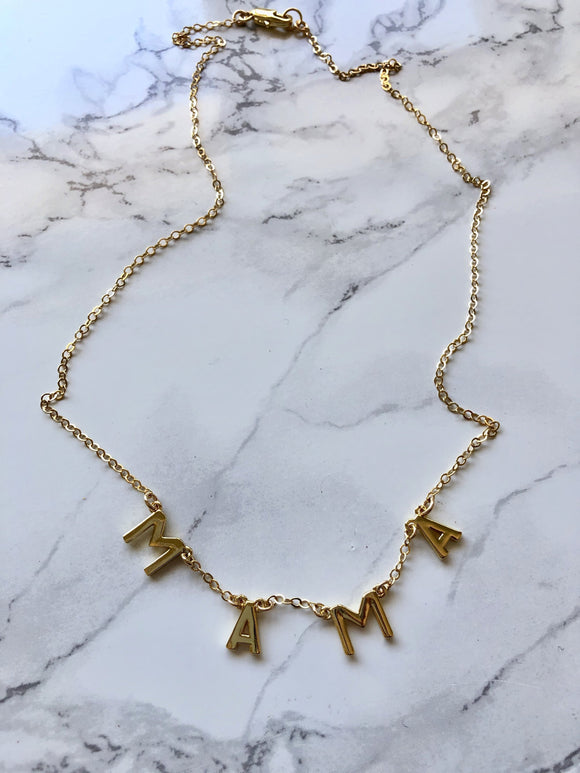 Mama Chain Necklace - Jessica Matrasko Jewelry