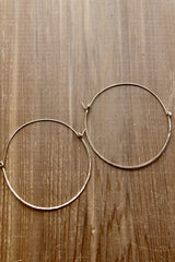 Dune Hoop Earrings - Jessica Matrasko Jewelry