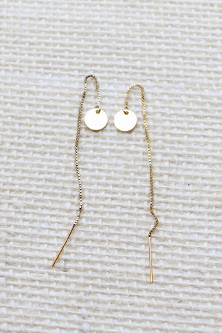 Mirage Threader Earrings - Jessica Matrasko Jewelry