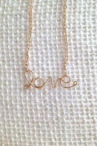 Love Necklace - Jessica Matrasko Jewelry