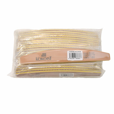 *Pack of 20 Moon Brown Washable File