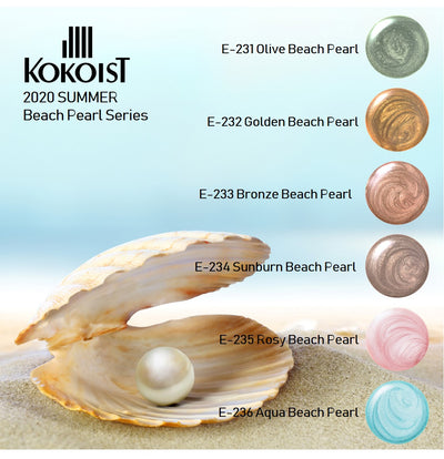 New! Beach Pearl Series + Free Gift E231-E236