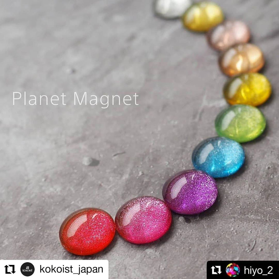 Planet Magnet 10 color set + Magnet Stick