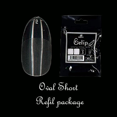 OS Oval Short Gelip Refill Package 30P