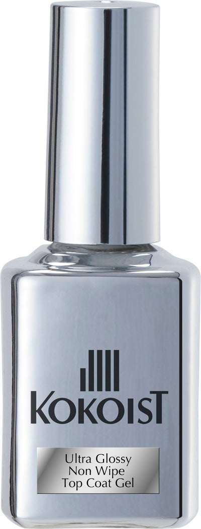 Ultra Glossy Non Wipe Top Coat Gel 15ml