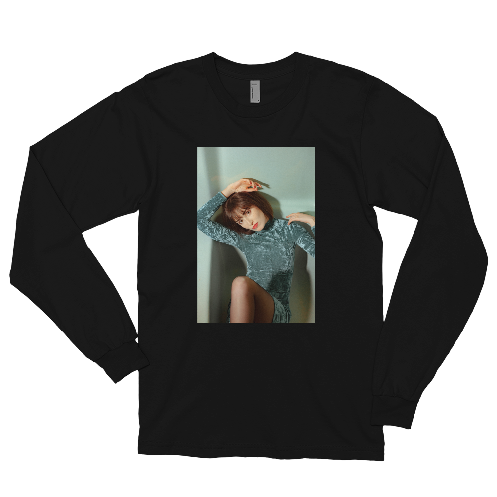 """Sanctuary"" Portrait Long Sleeve Tee"
