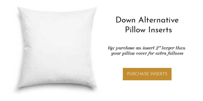 Pillow Inserts