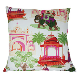 Bara Bazaar Fabric in a Custom Pillow