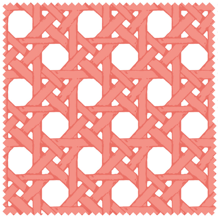 Coral Cane Back Fabric