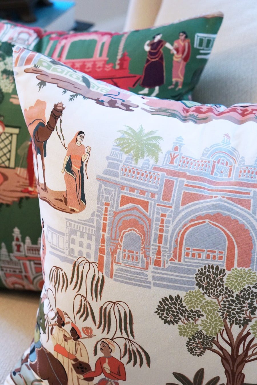 Bara Bazaar Pillow Cover in Garden