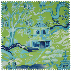 Gardens of Chinoise in Green & Blue