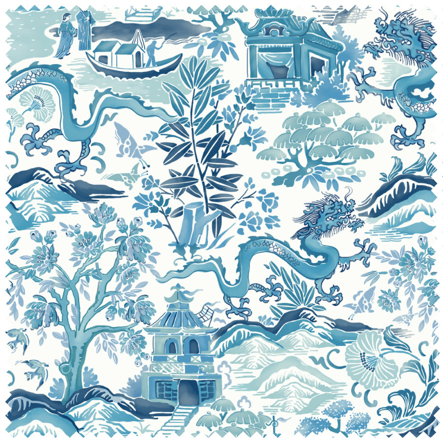Gardens of Chinoise in Blue